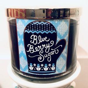 Bath & Body Works Blueberry Sugar Candle Original